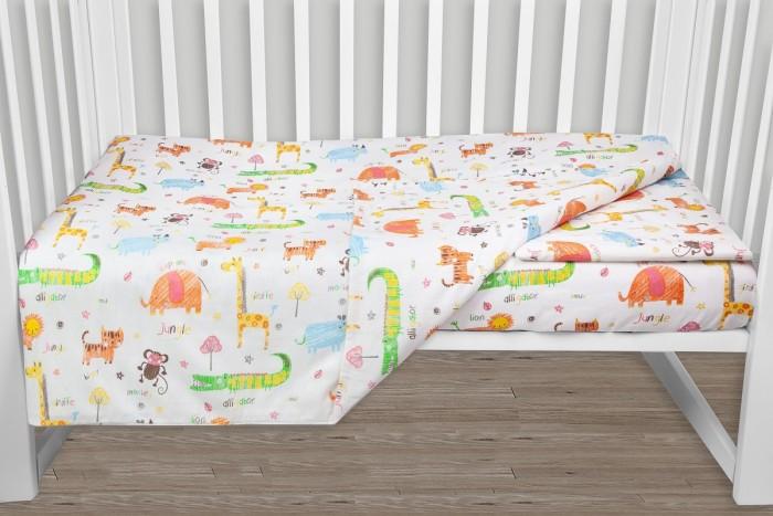 Фото - Постельное белье AmaroBaby Baby Boom Лимпопо (3 предмета) amarobaby комплект в кроватку baby boom короны 3 предмета серый