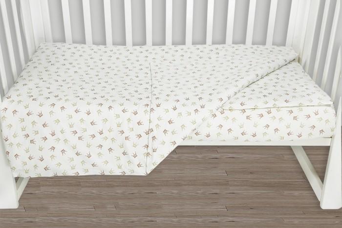 Фото - Постельное белье AmaroBaby Baby Boom Короны Принцессы (3 предмета) amarobaby комплект в кроватку baby boom короны 3 предмета серый