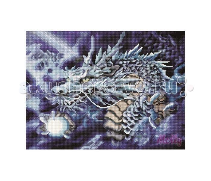 Molly Мозаичная картина Сказочный дракон 40х50 см