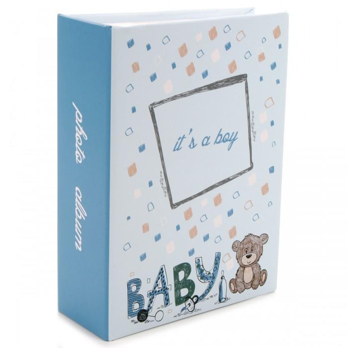 Фотоальбомы и рамки Pioneer Фотоальбом Baby для мальчиков 100 фото 10х15 см фотоальбом platinum винтаж 2 300 фотографий 10 х 15 см