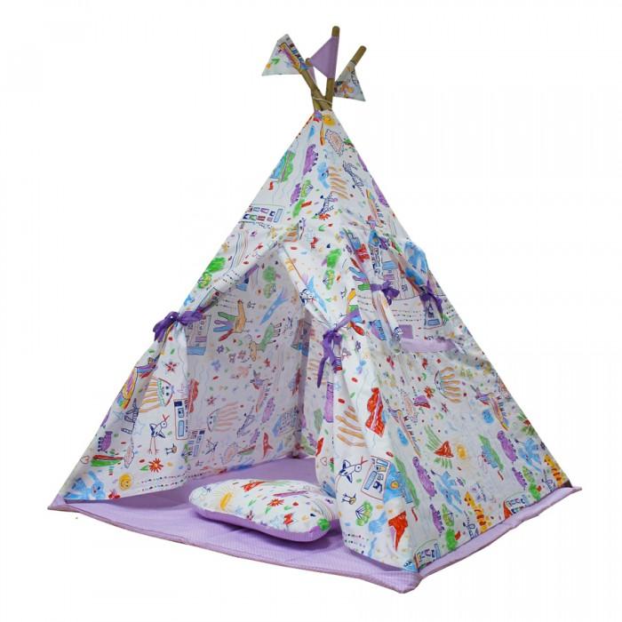 Палатки-домики Midzumi Детский Вигвам Sweet Home