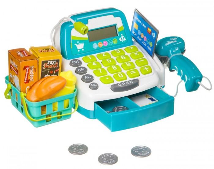 Картинка для Ролевые игры Bondibon Набор Играем в магазин с кассовым аппаратом (17 предметов)