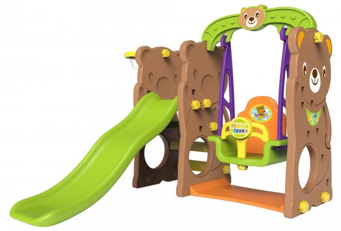 Toy Monarch Игровой комплекс Мишка с качелями