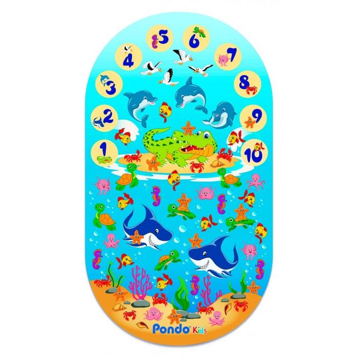 Коврик Pondo для ванны Цифры 69х39 см