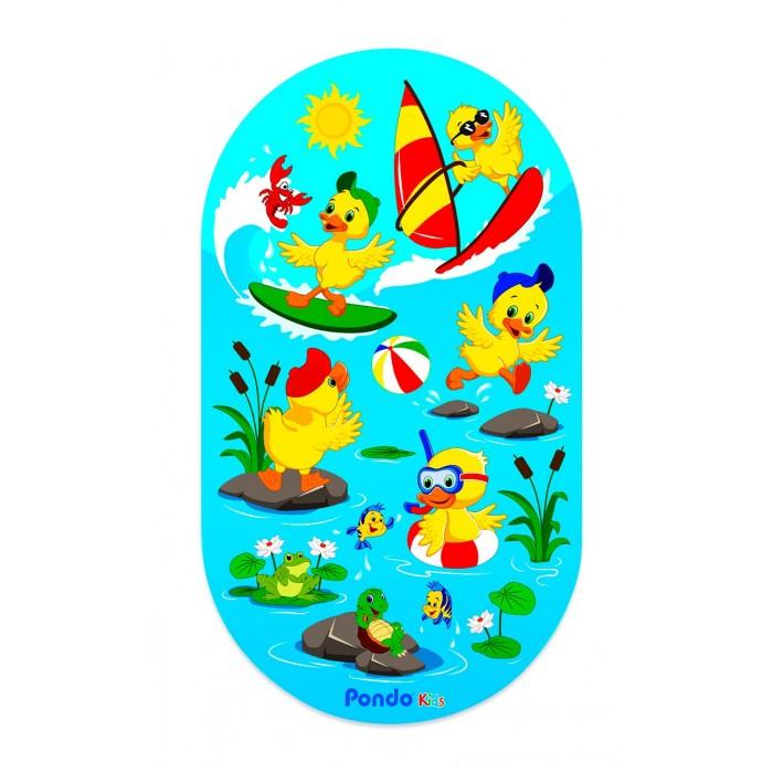 Коврик Pondo для ванны Веселые Утята 69х39 см