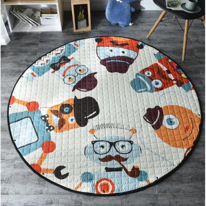 Купить Porolon Стеганый игровой коврик-мешок Роботы 1,5м в интернет магазине. Цены, фото, описания, характеристики, отзывы, обзоры