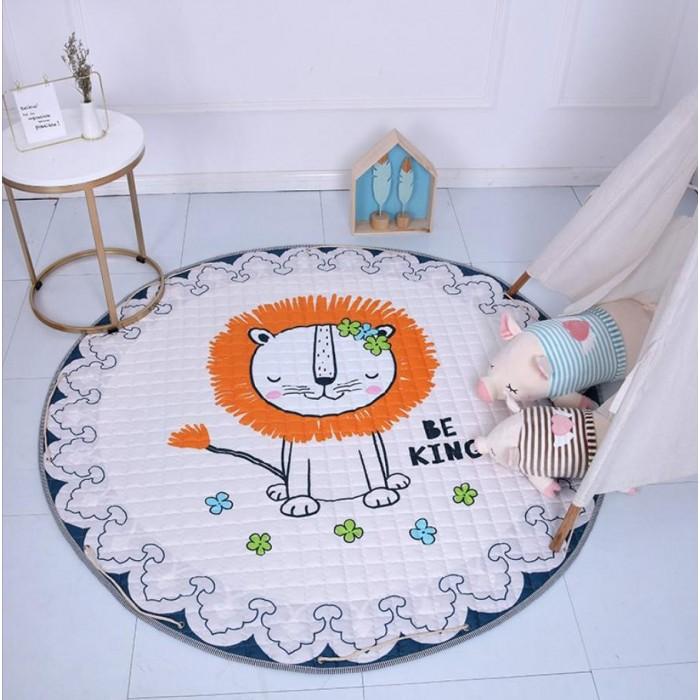 Купить Porolon Стеганый игровой коврик-мешок Лёва 1,5м в интернет магазине. Цены, фото, описания, характеристики, отзывы, обзоры