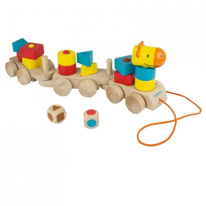 Купить Деревянная игрушка Beleduc развивающая Паровозик Учим формы в интернет магазине. Цены, фото, описания, характеристики, отзывы, обзоры