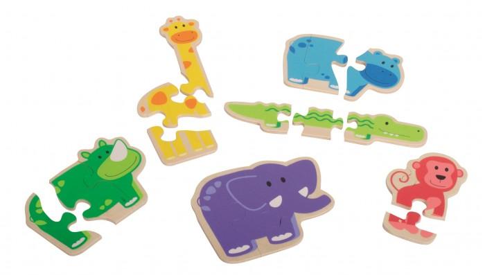 Купить Деревянные игрушки, Деревянная игрушка Beleduc развивающая Веселые животные