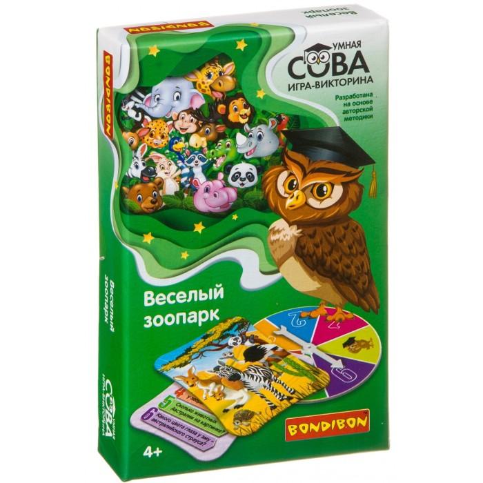 Bondibon Игра-викторина Умная Сова Веселый зоопарк