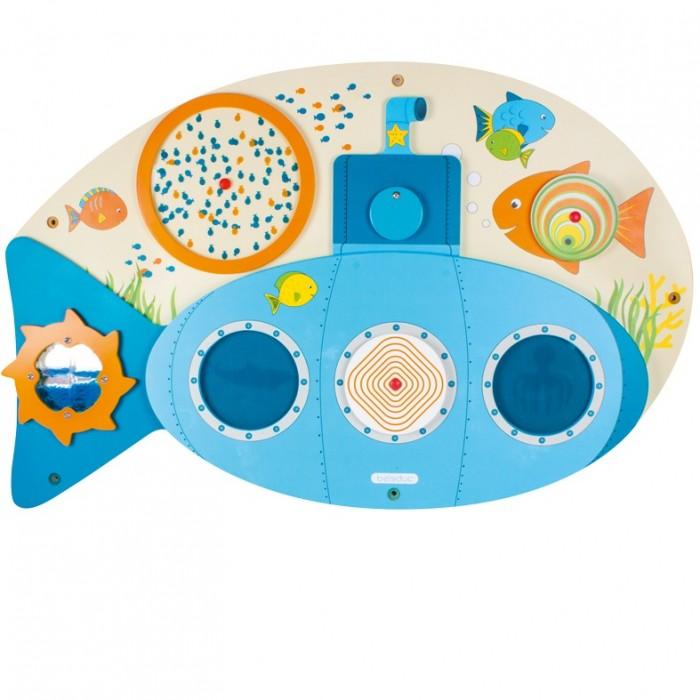 Картинка для Деревянная игрушка Beleduc Настенный игровой элемент Субмарина