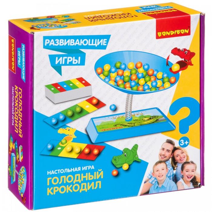 Купить Настольные игры, Bondibon Игра Голодный крокодил