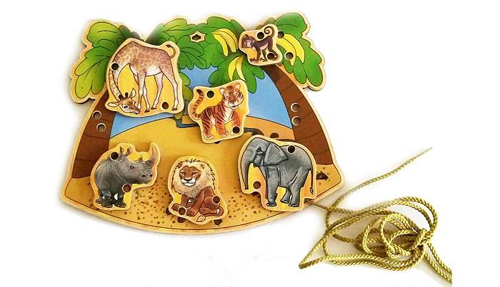 Деревянные игрушки Бэмби шнуровка В Африке бульдог драммонд в африке page 3