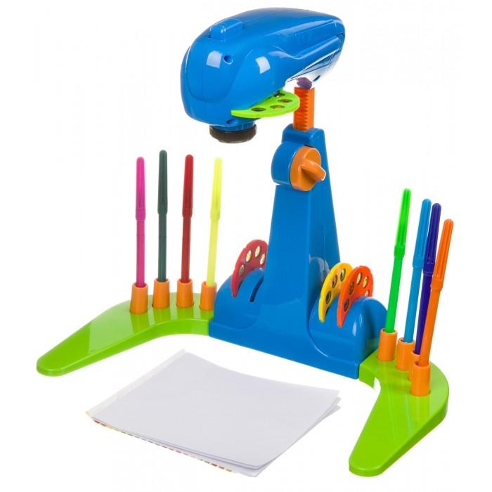 Купить Принадлежности для рисования, Bondibon Проектор для рисования с фломастерами и бумагой
