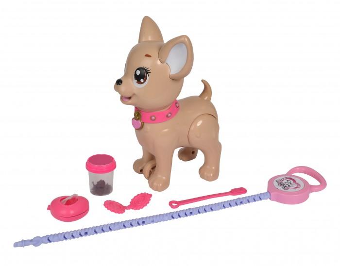 Купить Интерактивные игрушки, Интерактивная игрушка Chi-Chi Love Собачка с поводком для прогулки 29 см