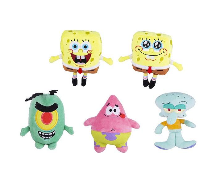 Мягкие игрушки SpongeBов плюшевая 15 см худи print bar губка боб