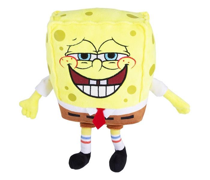 Мягкие игрушки SpongeBов плюшевая Спанч Боб со звуковыми эффектами 20 см цена 2017