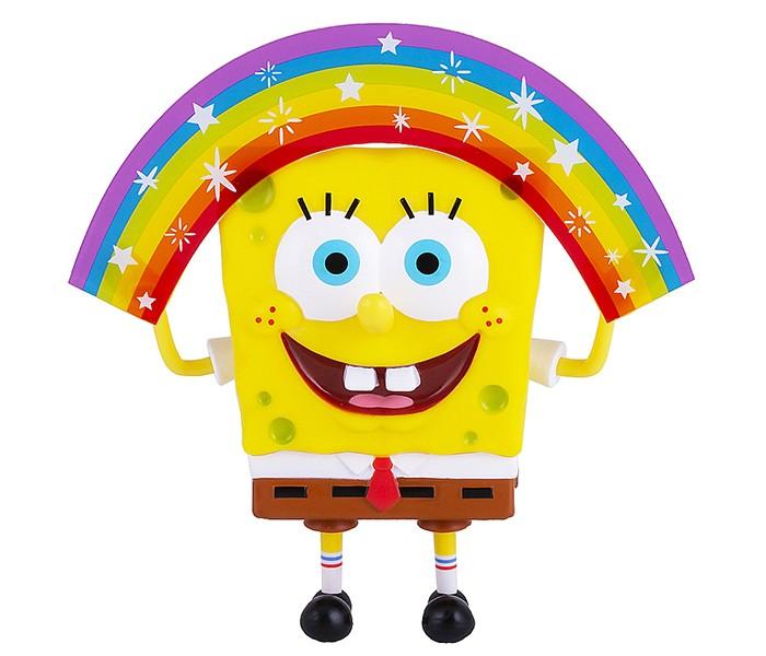 Игровые фигурки SpongeBов Игрушка Спанч Боб радужный 20 см