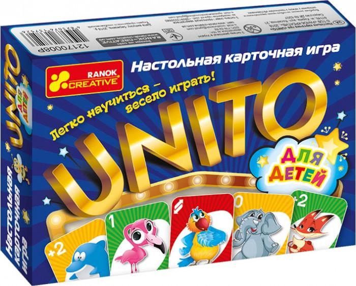 Фото - Настольные игры Ранок Настольная карточная игра Unito для детей настольные игры dodo настольная карточная игра болтун