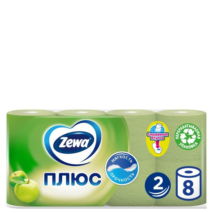 Хозяйственные товары Zewa Туалетная бумага Плюс Яблоко 2 слоя 8 шт.