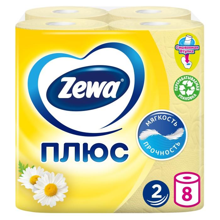 Хозяйственные товары Zewa Туалетная бумага Плюс с ароматом ромашки 8 шт. (2 слоя)