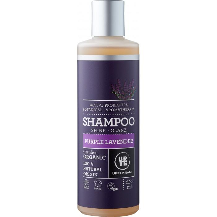 Косметика для мамы Urtekram Органический Шампунь Пурпурная Лаванда 250 мл косметика для мамы urtekram органический кондиционер для волос пурпурная лаванда 180 мл