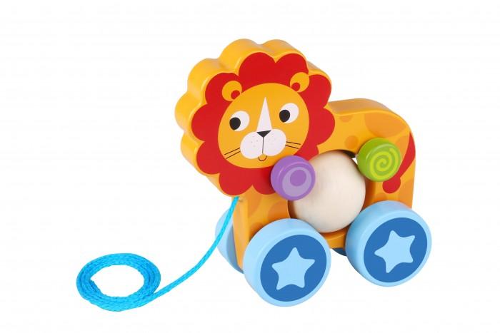 Купить Каталки-игрушки, Каталка-игрушка Tooky Toy Лев TKE005