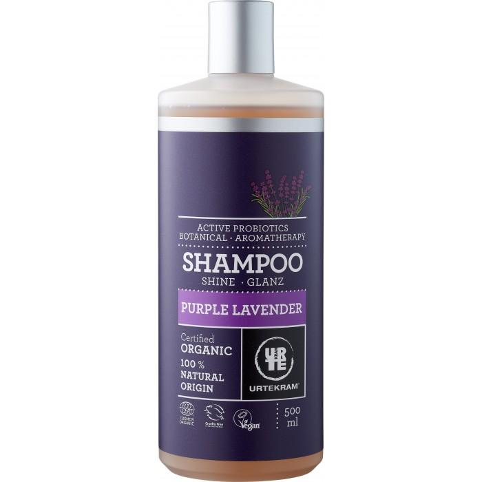 Косметика для мамы Urtekram Органический Шампунь Пурпурная Лаванда 500 мл косметика для мамы urtekram органический кондиционер для волос пурпурная лаванда 180 мл