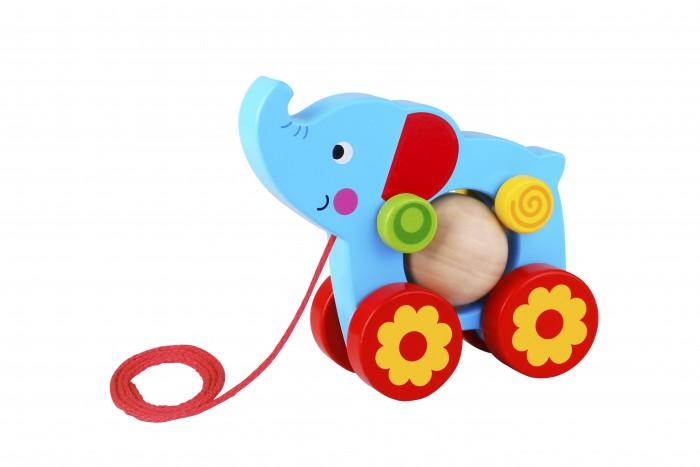 Купить Каталки-игрушки, Каталка-игрушка Tooky Toy Каталка Слоник TKE006