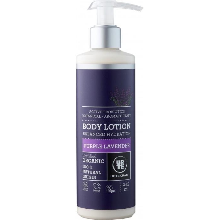 Купить Косметика для мамы, Urtekram Органический лосьон для тела Пурпурная Лаванда 245 мл