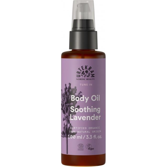 Купить Косметика для мамы, Urtekram Органическое масло для тела Пурпурная Лаванда 100 мл