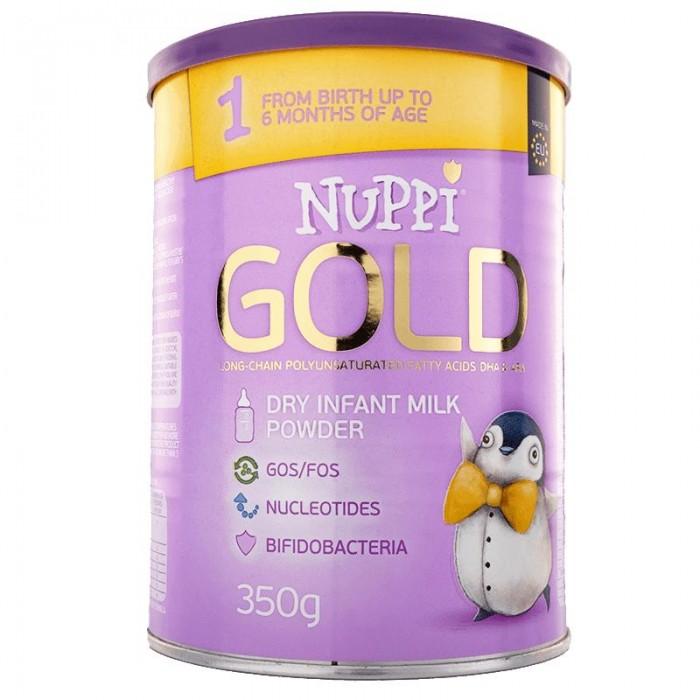 Купить Nuppi Голд 1 Молочная смесь 0-6 мес. 350 г в интернет магазине. Цены, фото, описания, характеристики, отзывы, обзоры