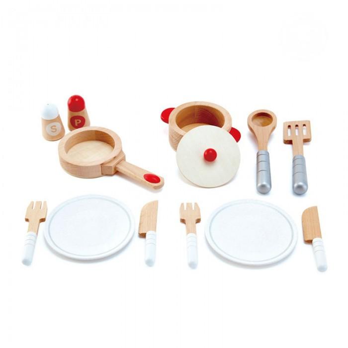 Ролевые игры Hape Набор Посуда E3150A посуда для приготовления пищи