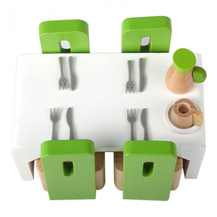 Кукольные домики и мебель Hape Мебель для столовой кукольные домики и мебель hape мебель для столовой