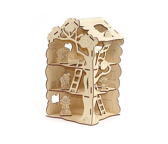 Купить Сборные модели, Woody Дом-дерево для Лешиков (22 элемента)