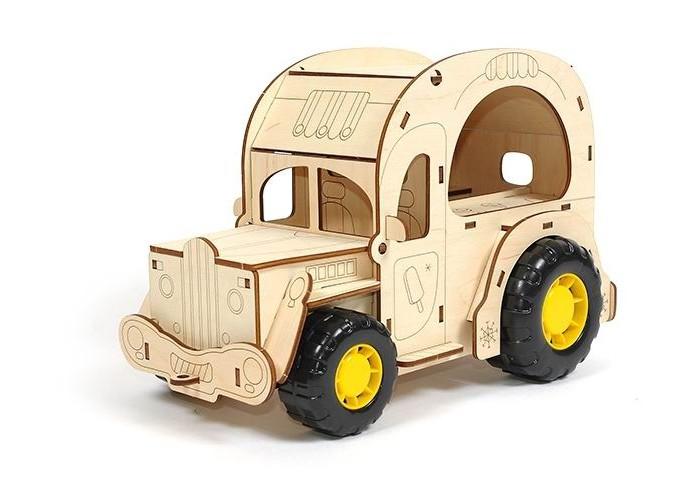 конструкторы robotime часы конструктор деревянные пингвин раскраска Конструкторы Woody Фургон Крем-брюле (36 элементов)