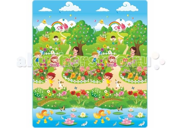 Игровой коврик Mambobaby Дети в паркеДети в паркеИгровой коврик Mambobaby Дети в парке для детей от 3 лет.  Особенности: Изготовлен из полипропилена, без токсинов и запаха.  Непромокаемый, теплоизолирующий, бесшовный, больших размеров, с богатой палитрой цветов, с яркими и милыми картинками из мультфильмов, стимулирующий развитие детского зрения и интеллекта, супер легкий, сворачивающийся, удобный в переноске, безопасный и комфортный.  Это идеальная площадка для ползания, игр и развития Вашего малыша.  Способы применения: для ползания, игр, защиты от влажности, использования в качестве подстилки на природе, на пикнике, на рыбалке и т.д.   Размеры: 200x180x0,5 см<br>