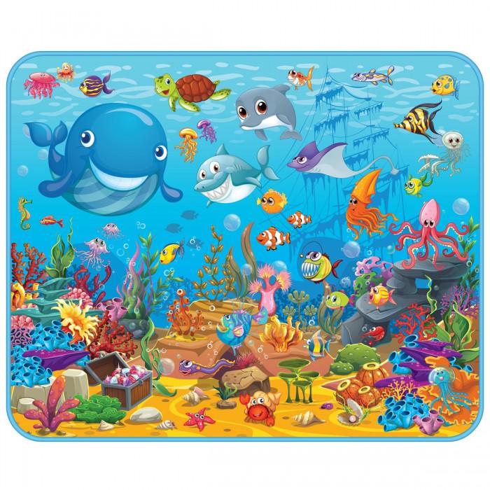 Купить Игровые коврики, Игровой коврик Mambobaby развивающий Подводный мир 130х160х0.5 см