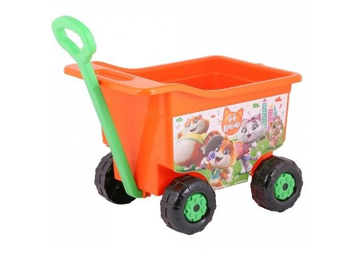 Купить Альтернатива (Башпласт) Тележка для игр на колёсах большая 44 котёнка в интернет магазине. Цены, фото, описания, характеристики, отзывы, обзоры