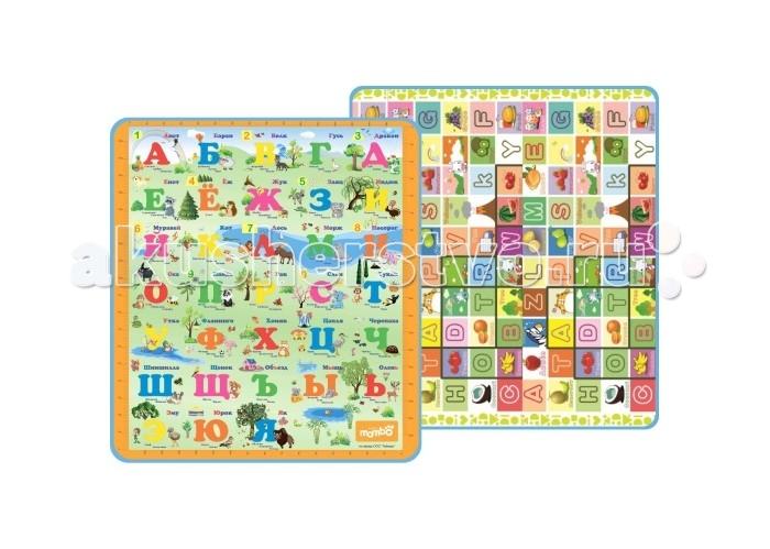 Игровой коврик Mambobaby Русский и английский алфавит