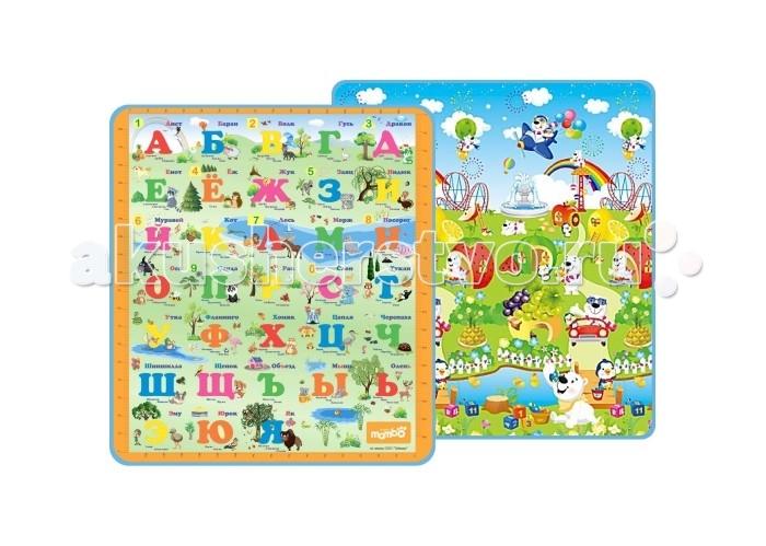 Игровой коврик Mambobaby Русский алфавит и Фруктовый парк 003ТМ