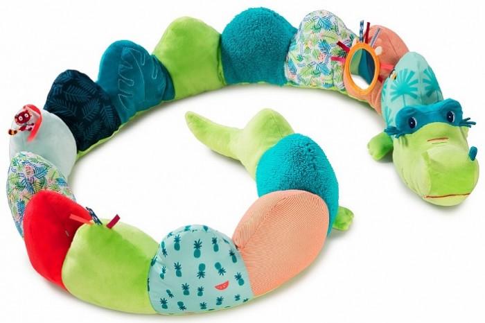 Купить Мягкие игрушки, Мягкая игрушка Lilliputiens развивающая Крокодил Анатоль
