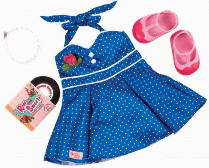 Our Generation Dolls Комплект одежды для куклы с виниловым диском от Our Generation Dolls