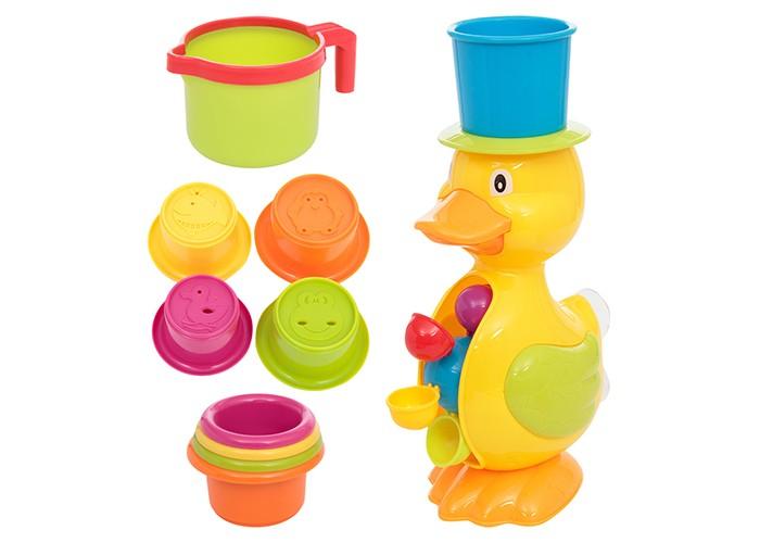 Купить Игрушки для ванны, Развитика набор игрушек для купания Уточка-водяное колесо