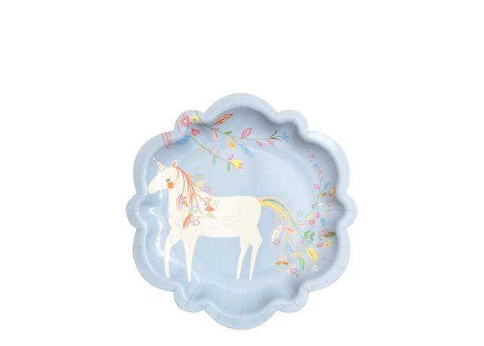 Товары для праздника MeriMeri Тарелки малые Волшебная принцесса товары для праздника merimeri мини шляпы для вечеринки волшебная принцесса
