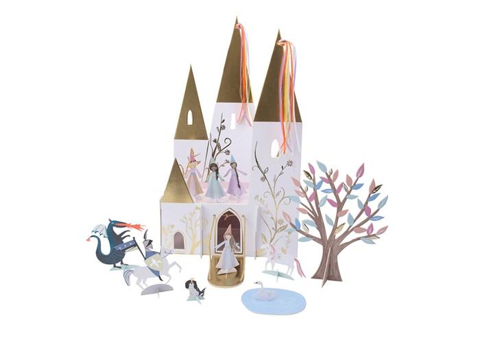 Товары для праздника MeriMeri Фигурка для декора стола Волшебная принцесса товары для праздника merimeri мини шляпы для вечеринки волшебная принцесса