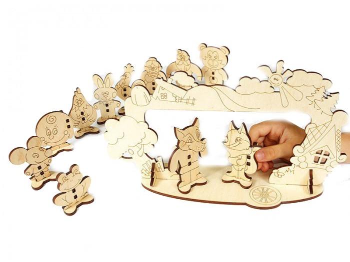 Деревянная игрушка Woody Набор Детский театр.
