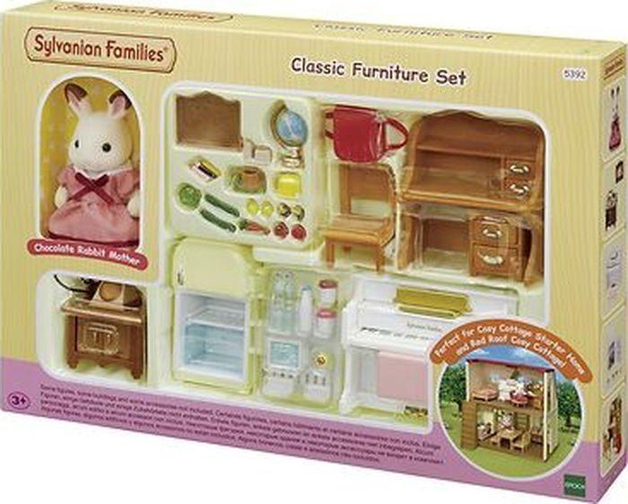 Купить Кукольные домики и мебель, Sylvanian Families Набор Мебель для уютного дома Марии
