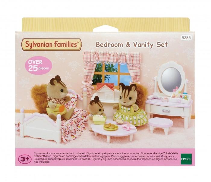 Купить Кукольные домики и мебель, Sylvanian Families Набор спальня и туалетный столик