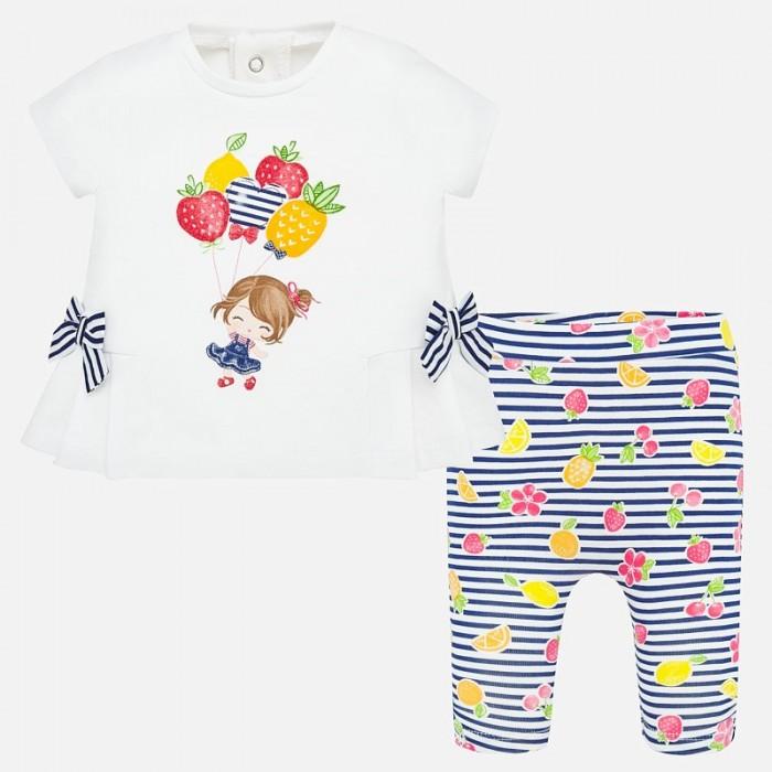 Купить Mayoral Комплект для девочки (леггинсы и футболка) New Born 1786 в интернет магазине. Цены, фото, описания, характеристики, отзывы, обзоры